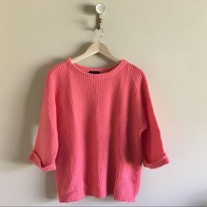 J.Crew | Rolled Sleeve Sweater